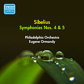 Sibelius, J.: Symphonies Nos. 4, 5 (Ormandy) (1954) by Eugene Ormandy