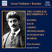 Kreisler: The Complete Recordings, Vol. 3 (1914-1916) by Fritz Kreisler