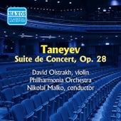 Taneyev: Suite De Concert (Oistrakh) (1955) by David Oistrakh