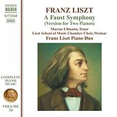 Liszt: A Faust Symphony (version for 2 pianos) by Marcus Ullmann