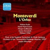 Monteverdi: Orfeo (L') (Krebs, Mack-Cosack) (1955) by Fritz Wunderlich