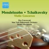 Mendelssohn / Tchaikovsky: Violin Concertos (Francescatti) (1955) by Dimitri Mitropoulos
