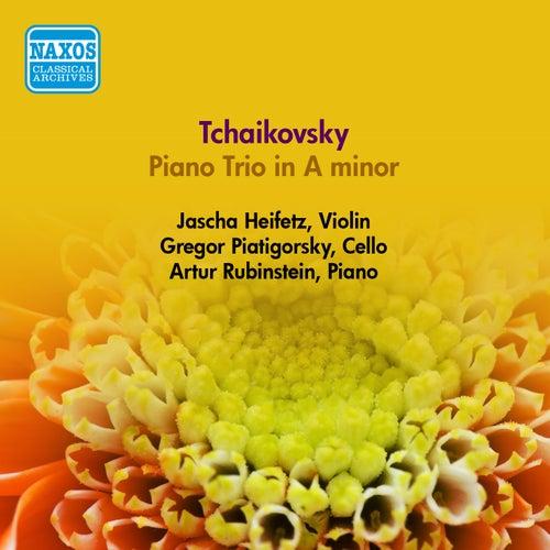 Tchaikovsky, P.I.: Piano Trio in A Minor (Heifetz, Piatigorsky, Rubinstein) (1950) by Jascha Heifetz