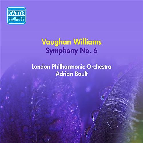 Vaughan Williams, R.: Symphony No. 6 (Boult) (1953) by Various Artists