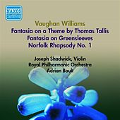 Vaughan Williams, R.: English Folk Song Suite (Excerpts) / Norfolk Rhapsody No. 1 / Fantasia On A Theme by Thomas Tallis (Boult) (1953) by Adrian Boult