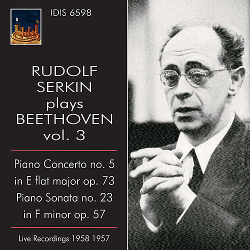 Rudolf Serkin plays Beethoven, Vol. 3 (1957-1958) by Rudolf Serkin