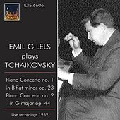 Emil Gilels Plays Tchaikovsky (1959) by Emil Gilels