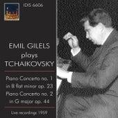 Emil Gilels Plays Tchaikovsky (1959) by Emil Gilels
