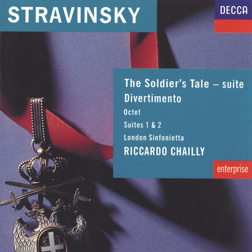 Stravinsky: The Soldier's Tale; Divertimento etc by London Sinfonietta