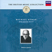 Nyman: String Quartets Nos.1-3 by Balanescu Quartet