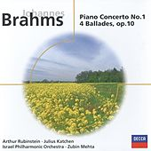 Brahms: Piano Concerto No.1 in D minor/4 Ballades, Op.10 by Various Artists