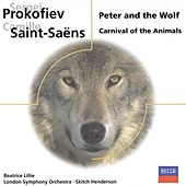 Prokofiev: Peter and the Wolf/Saint-Saens: Carnival of the Animals by Beatrice Lillie