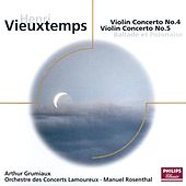 Vieuxtemps: Violin Concertos Nos.4 & 5 etc by Various Artists