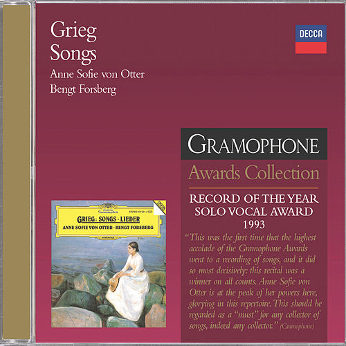 Grieg: Songs by Anne-sofie Von Otter