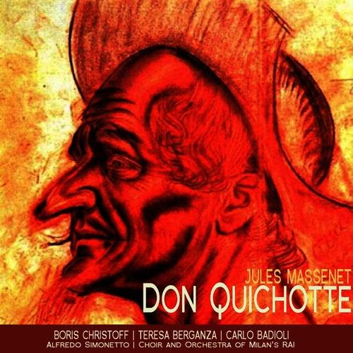 Massenet: Don Quichotte by Boris Christoff