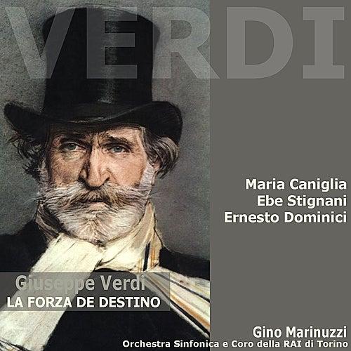 Verdi: La Forza de Destino by Maria Caniglia