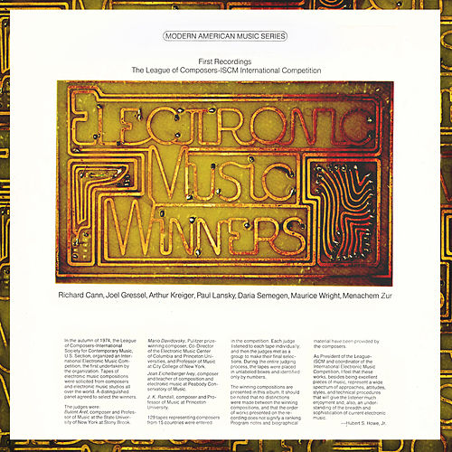 Electronic Music Winners by Various Artists