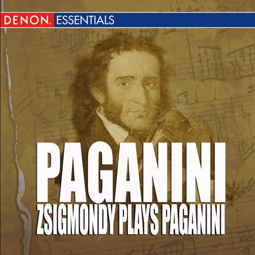 Paganini - Zsigmondy Plays Paganini by Anneliese Nissen