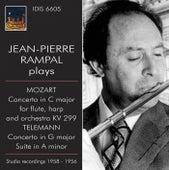 Jean-Pierre Rampal Plays Mozart & Telemann (1956,1958) by Jean-Pierre Rampal