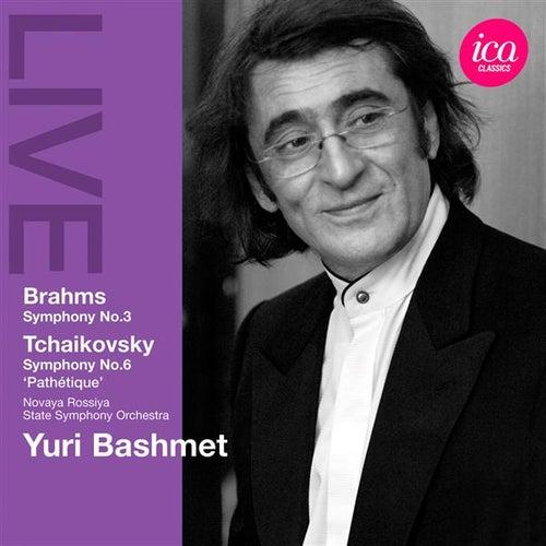 Brahms: Symphony No. 3 - Tchaikovsky: Symphony No. 6 by Yuri Bashmet