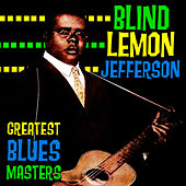 Greatest Blues Masters by Blind Lemon Jefferson