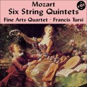 Mozart: Six String Quintets (Complete) [Vox Reissue] by Fine Arts Quartet