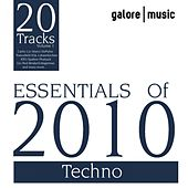 Essentials of 2010 : Techno by Various Artists
