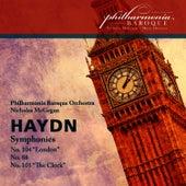 Haydn: Symphonies Nos. 104, 88, 101 by Philharmonia Baroque Orchestra