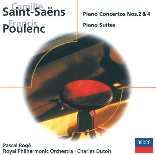 Saint-Saëns: Piano Concertos Nos. 2 & 4/Poulenc: 3 mouvements perpétuels, etc. by Pascal Rogé