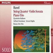 Ravel: String Quartet; Violin Sonata; Piano Trio by Various Artists