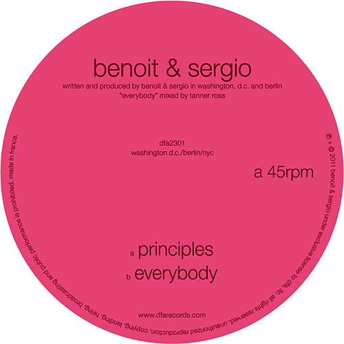 Principles by Benoit & Sergio