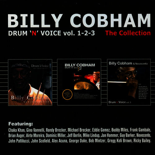 Drum 'n' voice vol. 1-2-3 The Collection by Billy Cobham