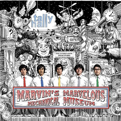 Marvin's Marvelous Mechanical Museum by Tally Hall
