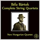 Bartok: The 6 String Quartets (Complete) [Vox Reissue] by New Hungarian Quartet