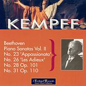 Beethoven: Piano Sonatas, Vol. 2:  Nos. 23, 26, 28 & 31 by Wilhelm Kempff