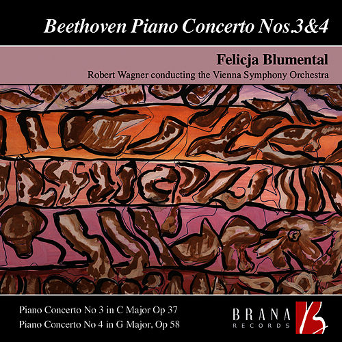 Beethoven Piano Concerto Nos. 3 & 4 by Felicja Blumental