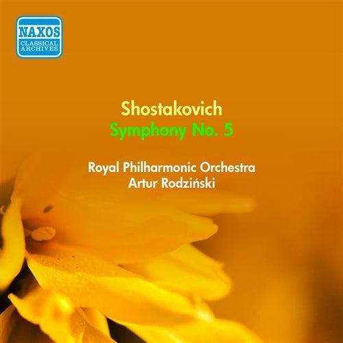 Shostakovich, D.: Symphony No. 5 (Rodzinski) (1954) by Artur Rodzinski