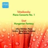 Tchaikovsky, P.: Piano Concerto No. 1 / Liszt, F.: Hungarian Fantasy (Katchen) (1955) by Julius Katchen