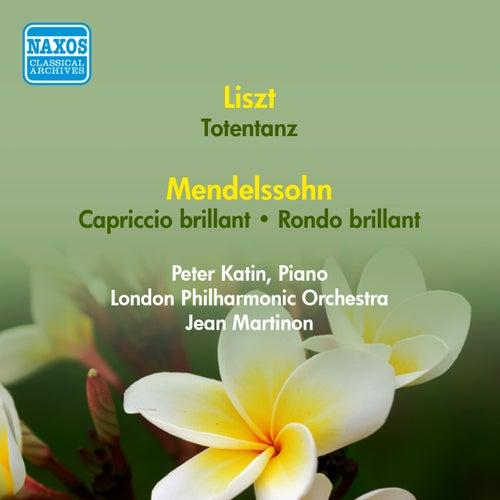 Liszt, F.: Totentanz / Mendelssohn, F.: Capriccio Brillant / Rondo Brillant (Katin, London Philharmonic, Martinon) (1954) by Jean Martinon
