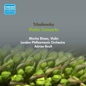 Tchaikovsky, P.I.: Violin Concerto (Elman, London Philharmonic, Boult) (1954) by Mischa Elman