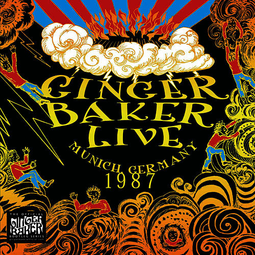 Live In Munich Germany 1987 by Ginger Baker