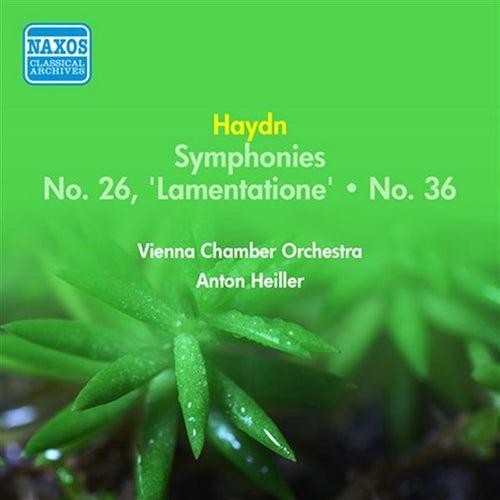 Haydn, J.: Symphonies Nos. 26, 'Lamentatione' and 36 (Heiller) (1955) by Anton Heiller