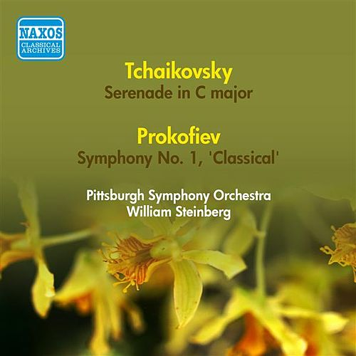 Tchaikovsky, P.I.: Serenade in C Major / Prokofiev, S.: Symphony No. 1, 'Classical' (Pittsburgh Symphony, W. Steinberg) (1954) by William Steinberg