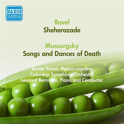 Ravel, M.: Sheherazade / Mussorgsky, M.: Songs and Dances of Death (Tourel, Columbia Symphony, Bernstein) (1950) by Jennie Tourel