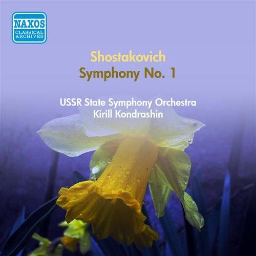 Shostakovich, D.: Symphony No. 1 (Ussr State Symphony, Kondrashin) (1951) by Kirill Kondrashin