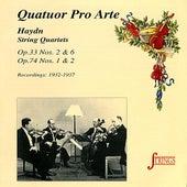 Haydn: String Quartets, No. 30, 33, 57 &58 by Quatuor Pro Arte