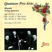 Haydn: String Quartets, Op. 20, 33, 50 by Quatuor Pro Arte