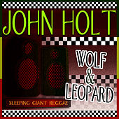 Wolf & Leopard by John Holt