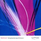 Beethoven: String Quartets, Op. 18, Vol. 1 by Sacconi Quartet