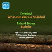 Dohnanyi, E.: Variations On A Nursery Theme / Strauss, R.: Burleske (Jacquinot, Philharmonia, Fistoulari) (1952) by Anatole Fistoulari